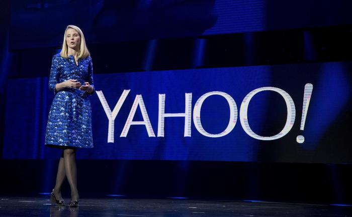 FILE - In this Jan. 7, 2014, file photo, Yahoo President and CEO Marissa Mayer speaks during the International Consumer Electronics Show in Las Vegas. Mayers nearly four-year attempt to turn around Yahoo needs a turnaround itself, repeating a pattern of futility that has hobbled one of the Internets best-known companies for the past decade. (ANSA/AP Photo/Julie Jacobson, File)